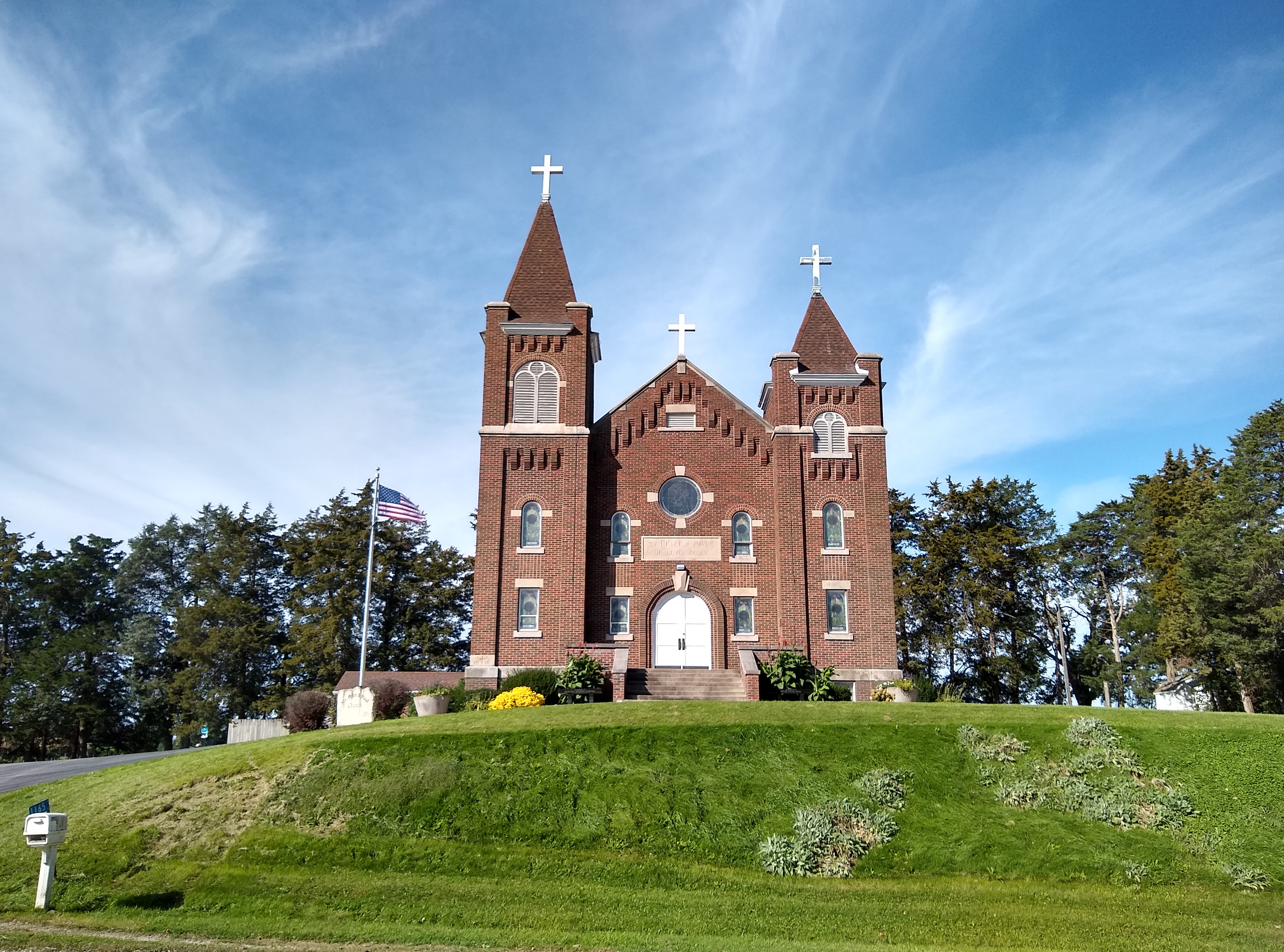 new picture of the church