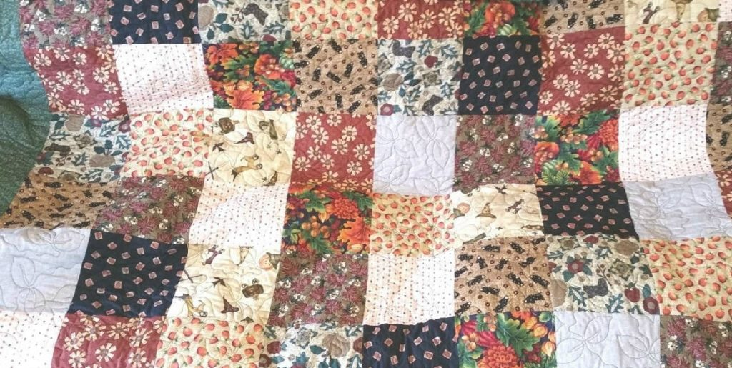 picture of autumn splendor quilt
